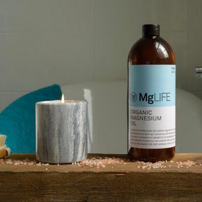 MgLIFE Organic Magnesium Oil | Bath