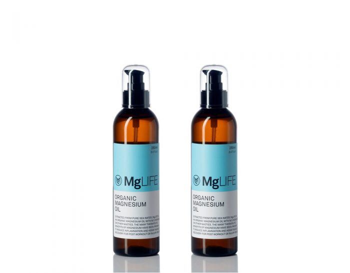 MgLIFE Organic Magnesium Oil 250ml Twin Pack